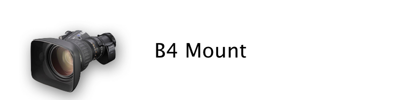 Canon B4 mount lenses