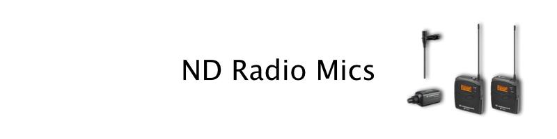 sennheiser radio mics