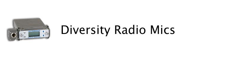 diversity radio mics