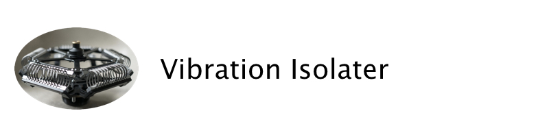 Quintolator vibration isolator