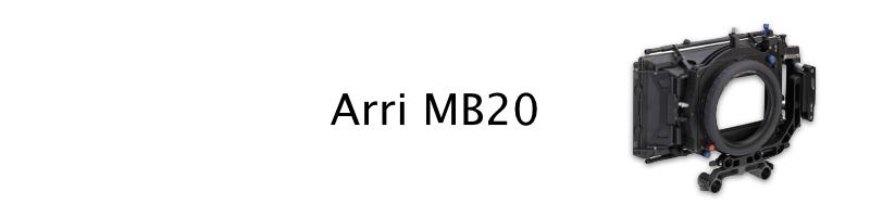 Arri MB20 production matte box