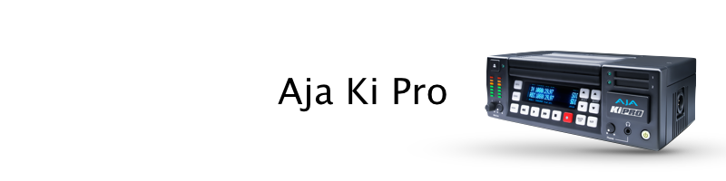 AJA Ki Pro SSD recorder