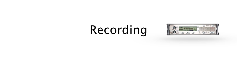 Sound recording equipment