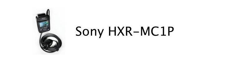 Sony HXR MC1P